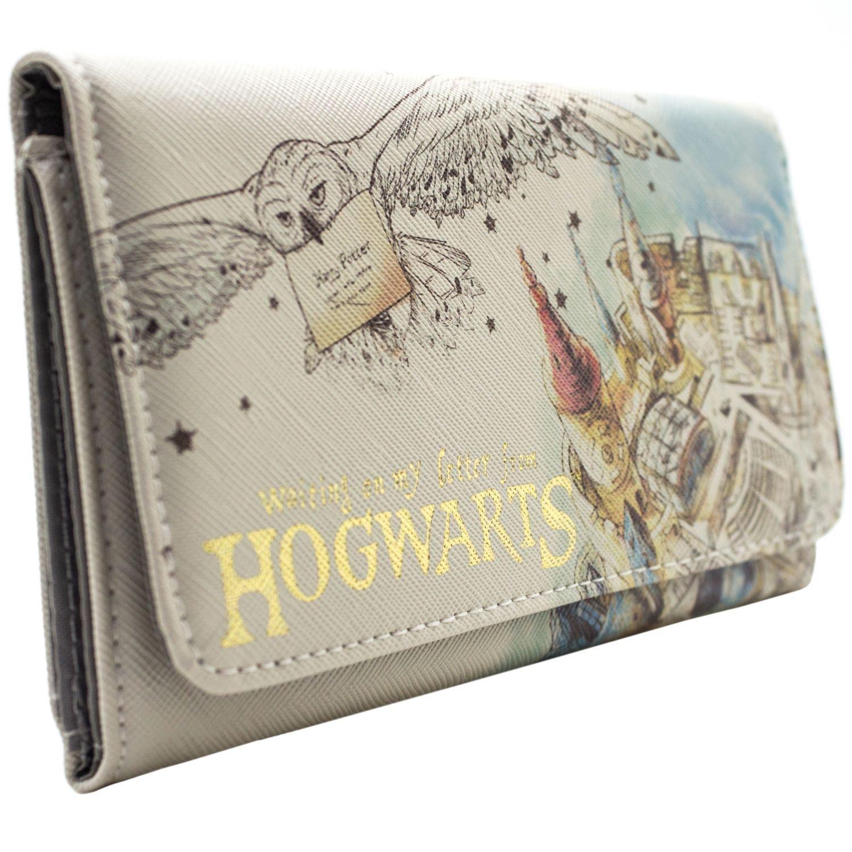 Cartera de Harry Potter Waiting On My Letter Hogwarts Blanco