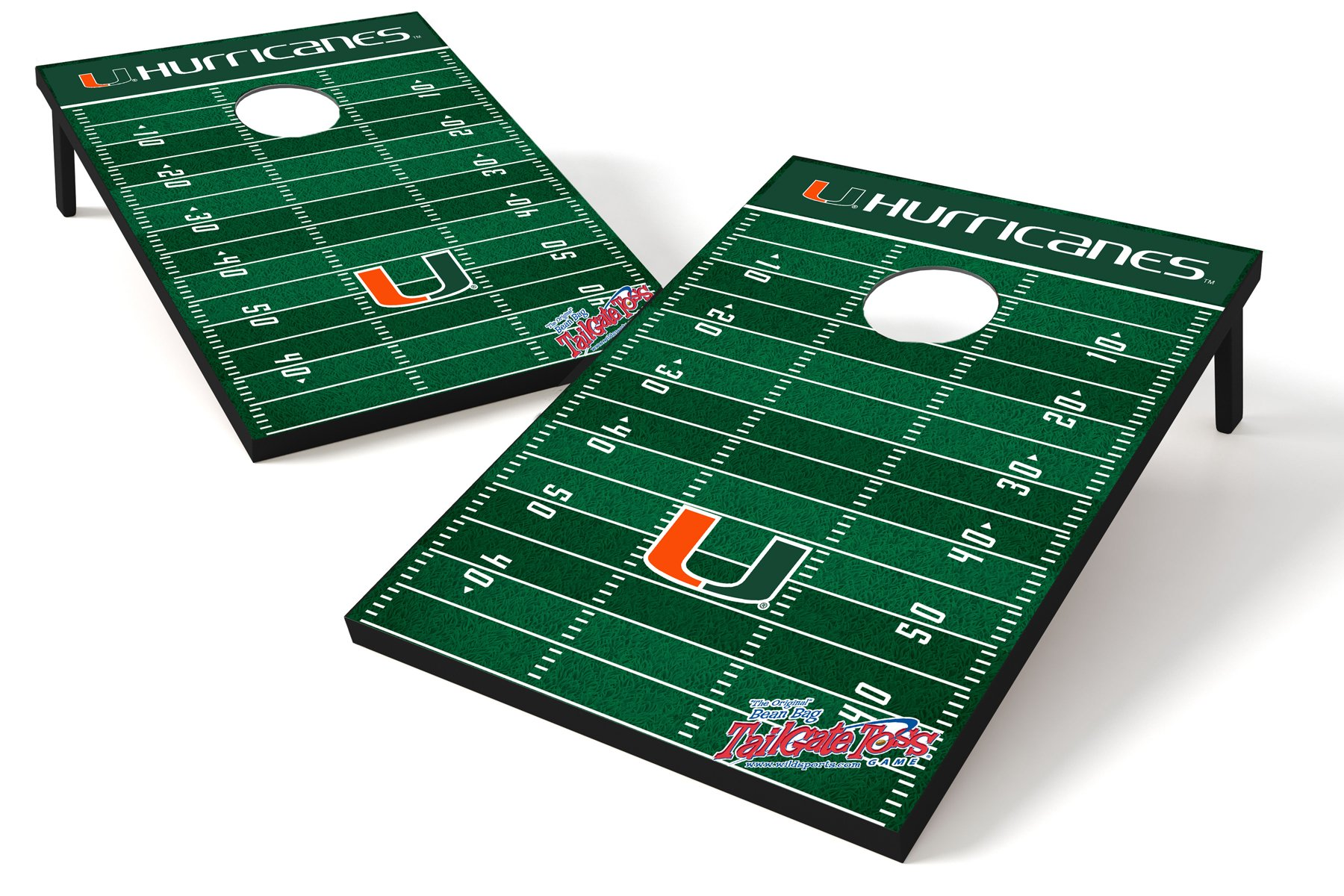 Wild Sports NCAA College Miami Hurricanes Tailgate Toss Game by Wild Sports