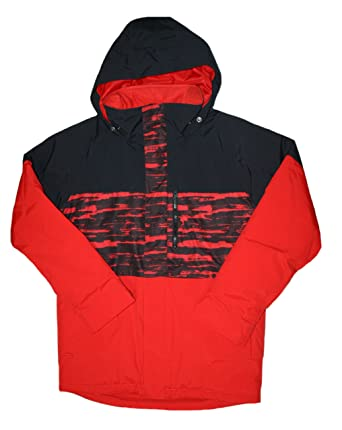eb93c1329550 Burton Big Boys' Dryride 2L Durashell Symbol Jacket (Large 14-16, Red