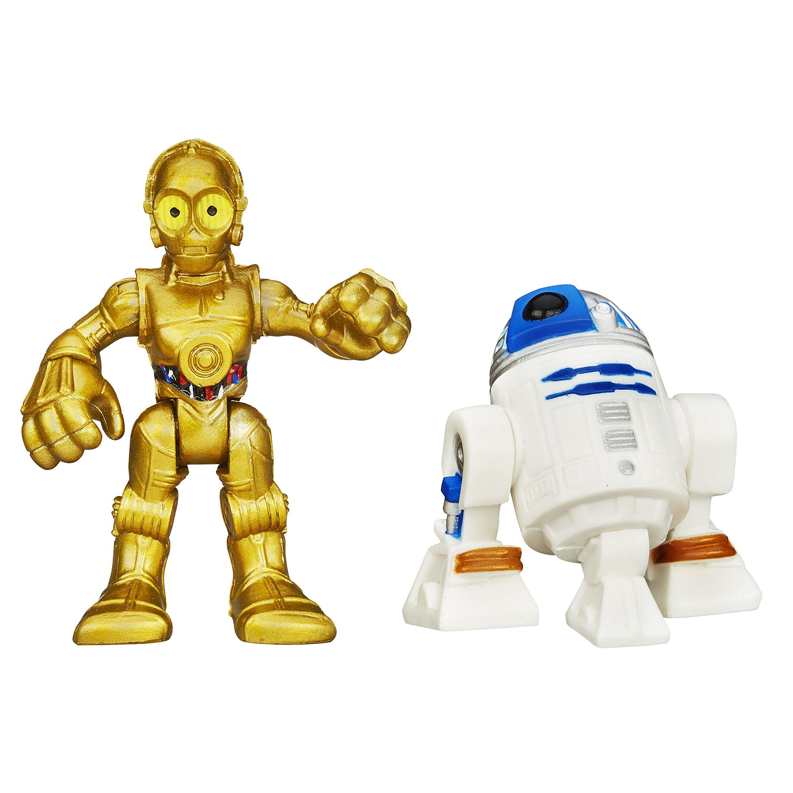 "Jedi Force 2.5/"" Action Figure Toys Hasbro Playskool Star Wars Galactic Heroes"