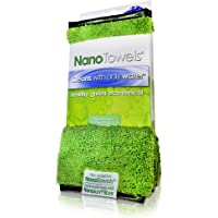 Nano Towels - Amazing Eco Fabric That Cleans Virtually Any Surface With Only Water. No More Paper Towels Or Toxic…