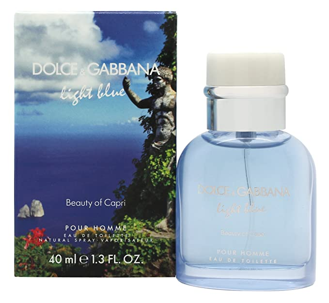 Vaporisateur Capri Light Blue In Eau amp;g Toilette 125 De Ml D Beauty ZuPiOkXT