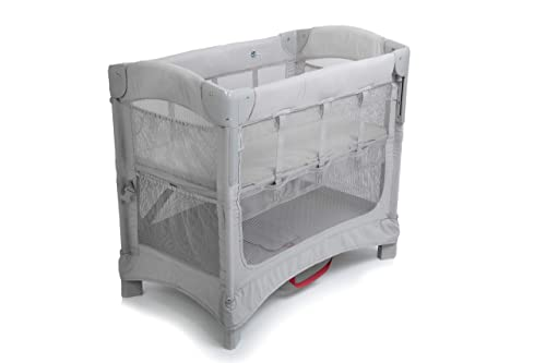 Arm s Reach Concepts Mini Ezee 2-in-1 Co-Sleeper Bassinet - Grey