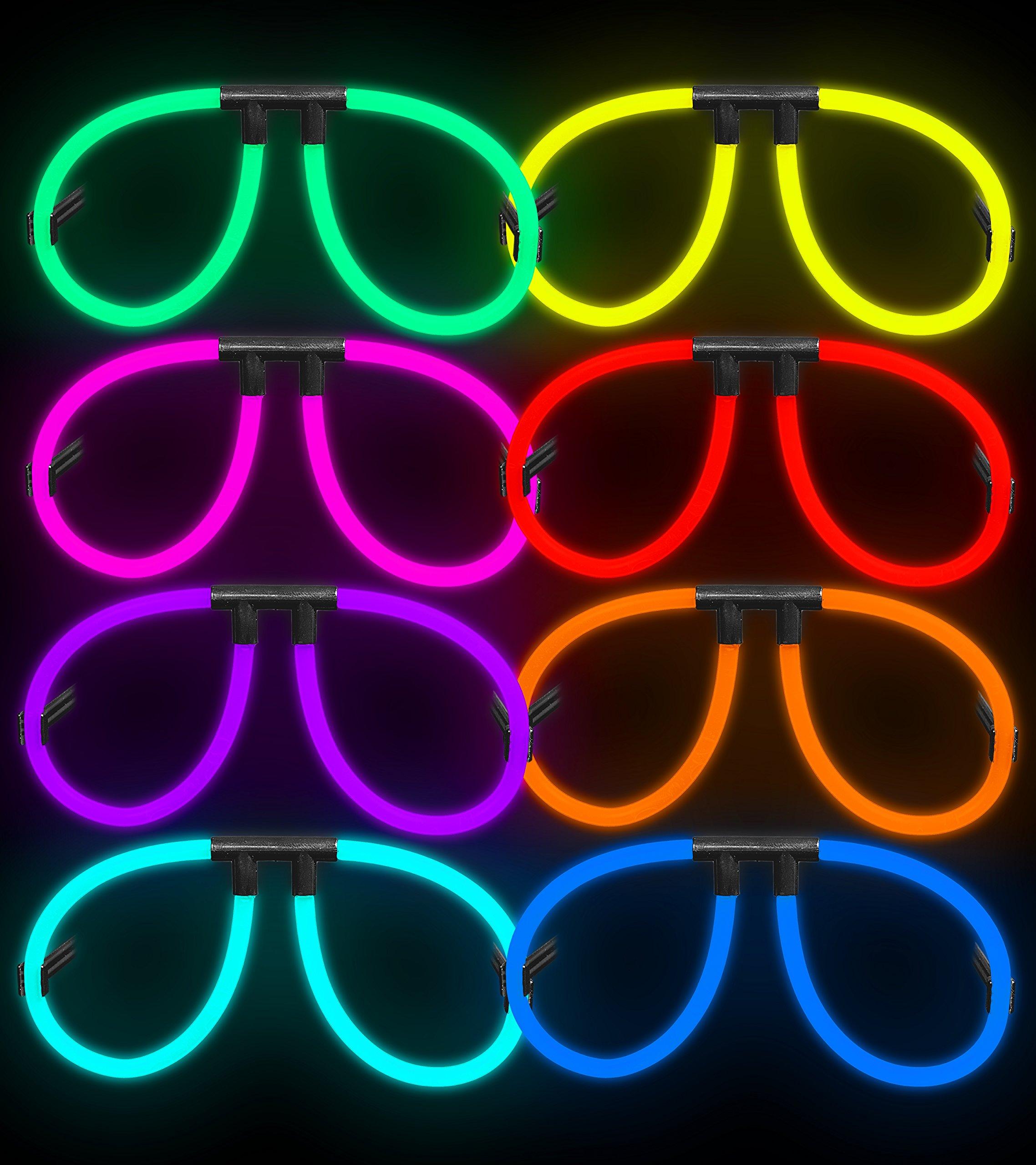 Aviator Lumistick Glow Eyeglasses (50, Assorted)