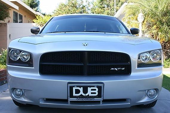Amazon.com: Dodge Charger Challenger Sxt-6 Badge Emblem Black / Silver: Automotive