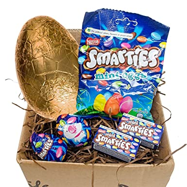 Smarties easter egg gift set with goldern easter egg perfect smarties easter egg gift set with goldern easter egg perfect little gift for this easter negle Image collections
