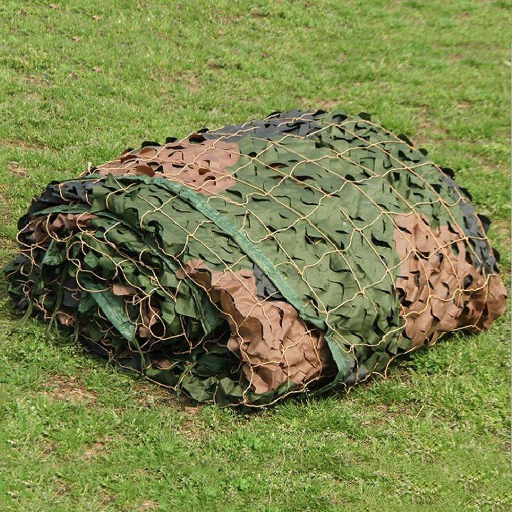 LIANGLIANG Rete Parasole Serre Antivento Outdoor Shade Set Decorativo Traspirante Pieghevole Camouflage Camouflage Resistente Ai Fiori Protezione Net in Polietilene, Taglia 27