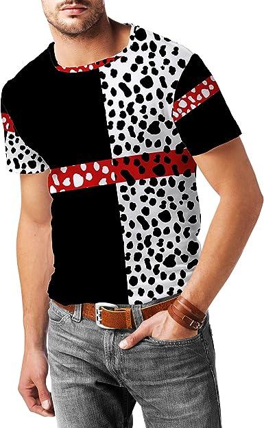 M sizes S Cruella from 101 Dalmatians-inspired Comfy T-shirt dress and XL L