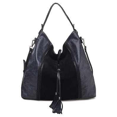 269f412a5efd Moda Luxe Women's Stylish Hope Hobo, Genuine Suede, Handbag ...