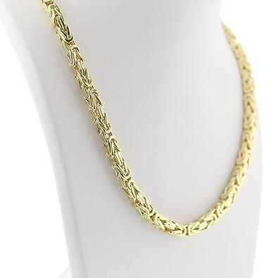 Goldkette königskette  Königskette in 585 Goldkette in 65 cm Halskette Gelbgold 14 Karat ...
