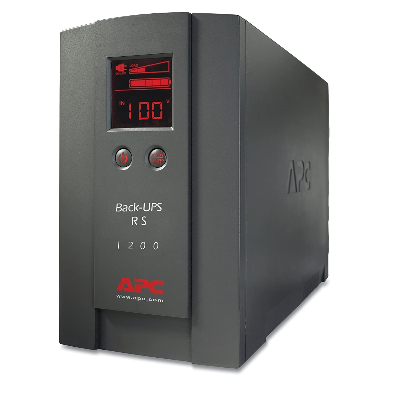 APC Back UPS RS 1200VA 720W 230V LCD Uninterruptible Power Supply - Black:  Amazon.co.uk: Computers & Accessories