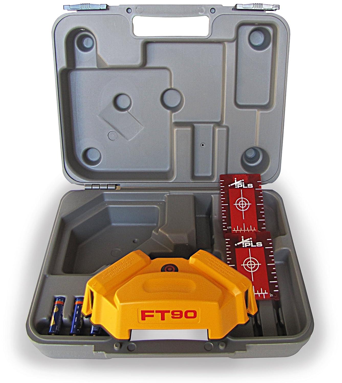 PLS Laser PLS 60567 PLS FT 90 Floor Tile Layout Tool Yellow