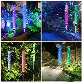 Outdoor Solar Garden Stake Lights,Wohome 2pcs Solar