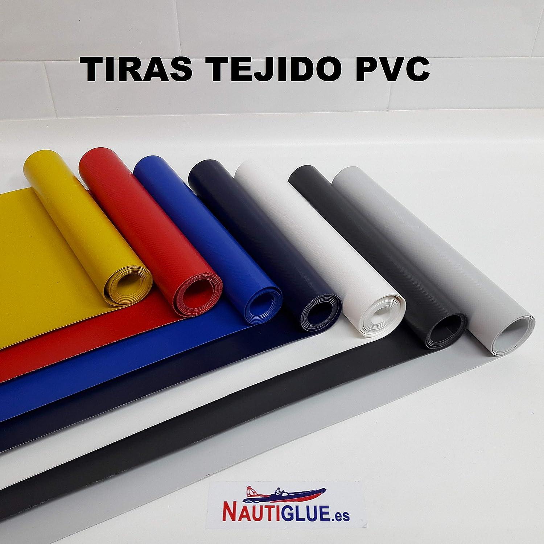 NAUTIGLUE Parches de PVC para la reparacion de Zodiac e inflables de 1 Metro x 25cm