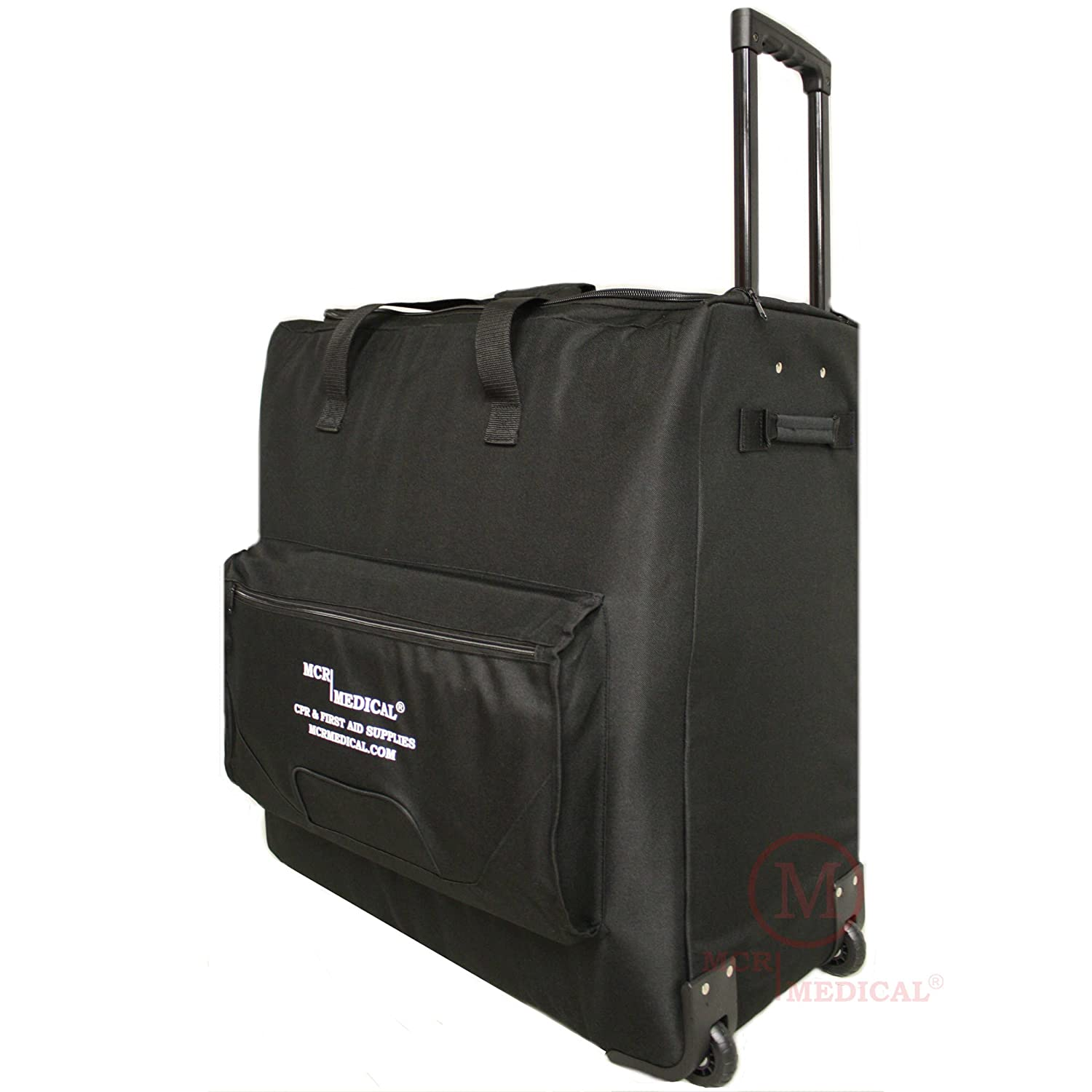 CPR Manikin CarryAll Bag with Wheels / Wheeled CPR Training Case, MCR Medical