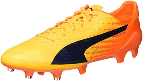 Puma Evospeed 17 Sl S Fg Scarpe da Calcio Uomo Giallo Safety Yellow Puma Blac