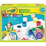 Crayola Mini Kids 81-8112-U-000 - Kit de Loisir Créatif - Mon Premier Kit de Peinture