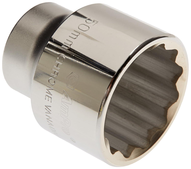 Ampro T335680 Douille 3/4' avec 12 Pans, 50 mm
