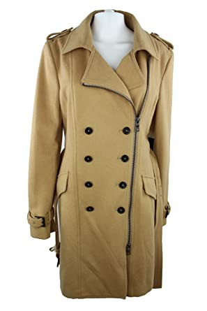 huge selection of 55e54 ba0d0 Blonde No.8 Damen Wollmantel Trenchcoat - Farbe Camel Gr. 40 ...