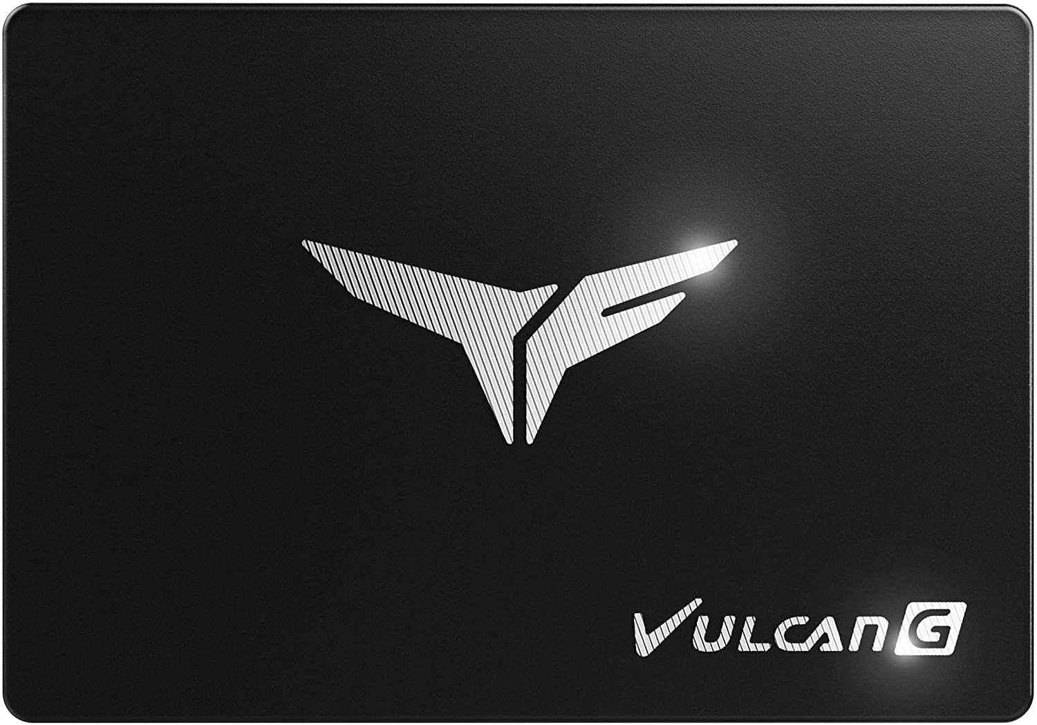 TEAMGROUP T-Force Vulcan G 1TB 2.5 Inch SATA III 3D NAND Internal Solid State Drive SSD, Read/Write Above 500MB/s - T253TG001T3C301