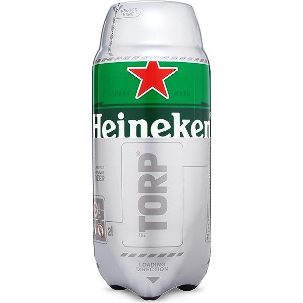 Heineken Cerveza Torp - 2 L: Amazon.es: Alimentación y bebidas
