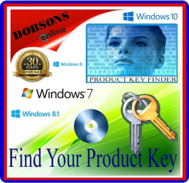 Product Key Licence COA Finder Software for Windows XP Vista 7 & Windows 8  MS Office NERO CD DISC DVD