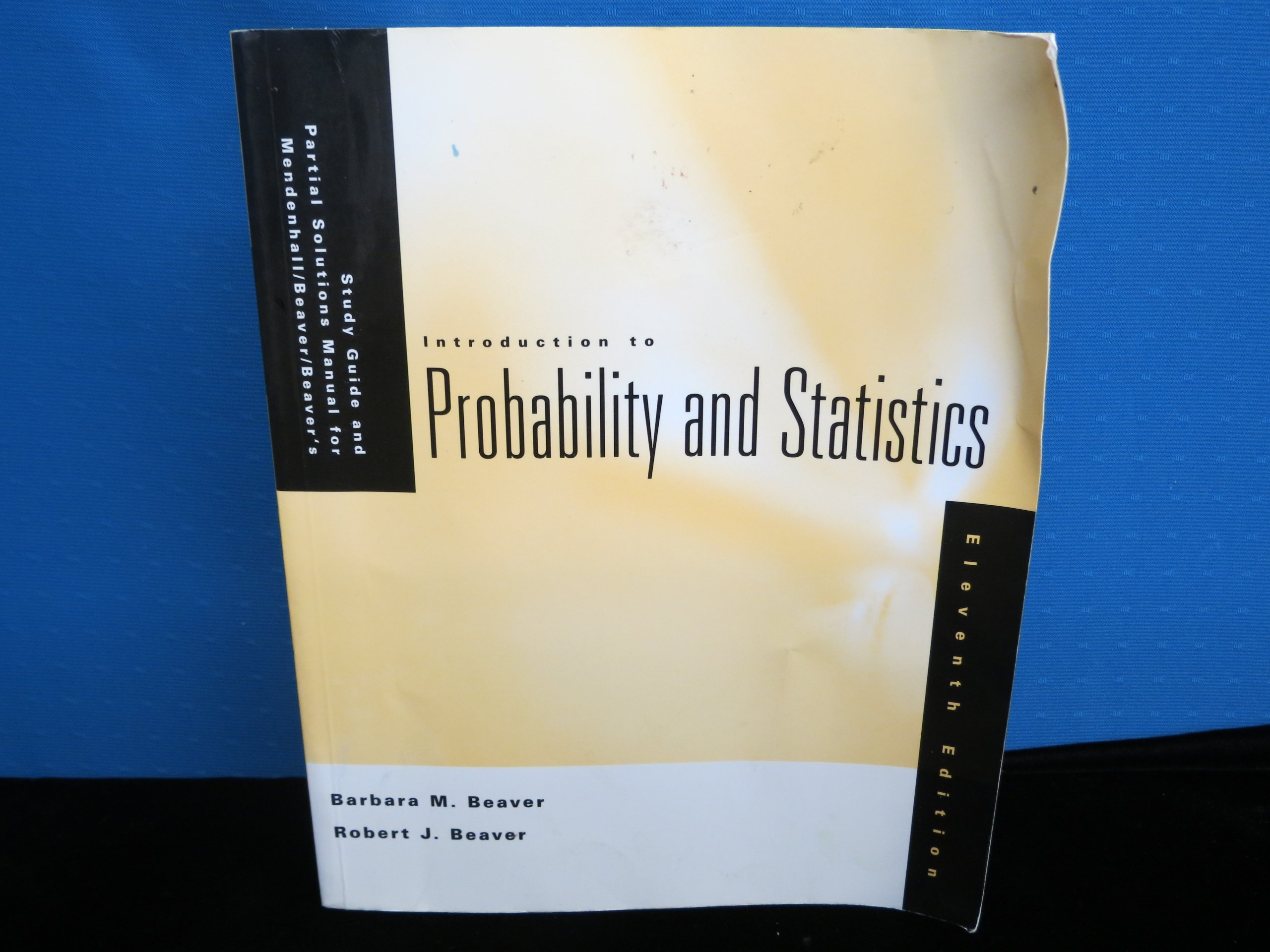 Introduction to Probability and Statistics: Study Guide and Solutions Manual:  William Mendenhall, Barbara M. Beaver, Robert J. Beaver: 9780534395209:  Books ...