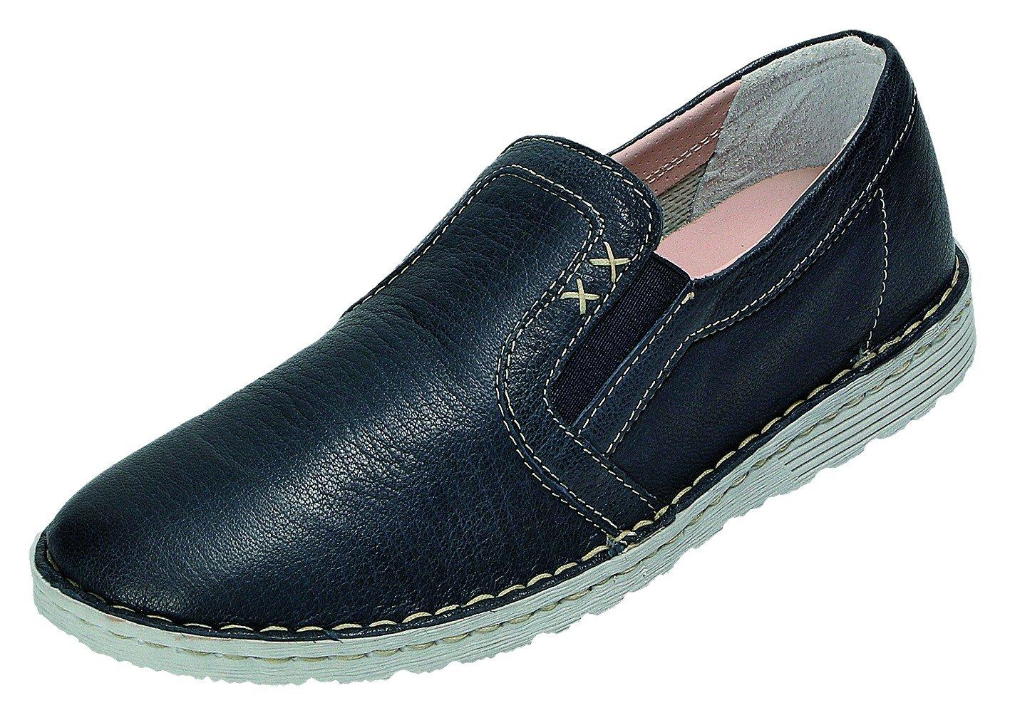 Relax Shoe Relaxshoe Zapatos de Cordones Para Mujer Azul Azul 37 EU|196-119 blu Nappa Natur
