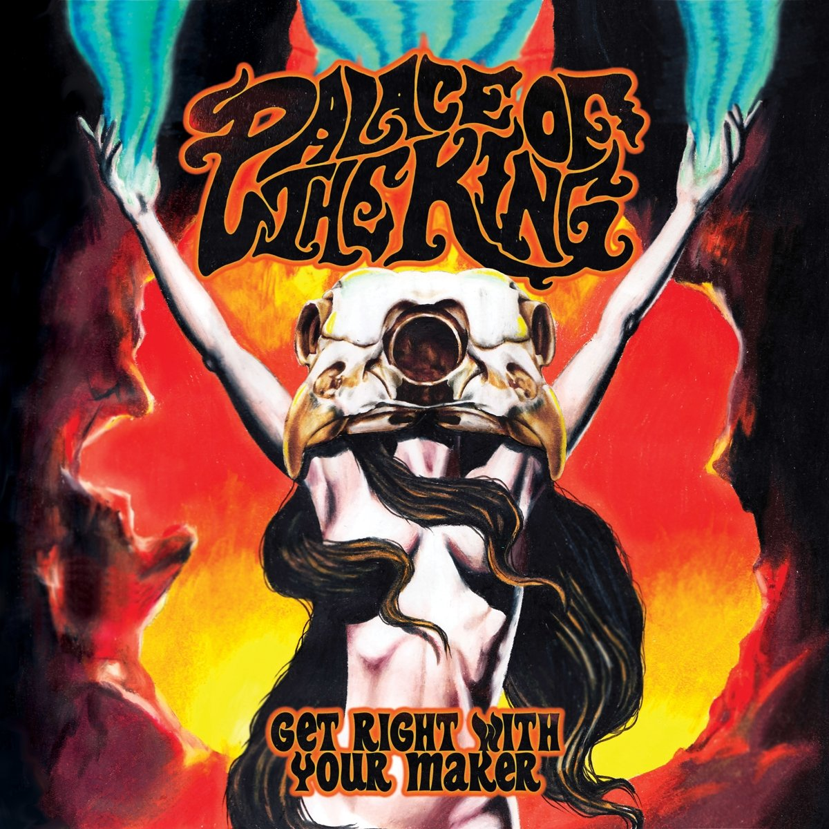 Vinilo : Palace of the King - Keep Right With Your Maker (Limited Edition, Black)