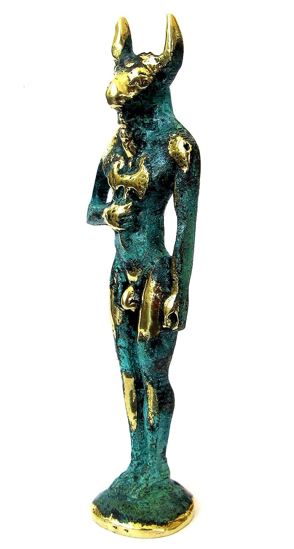 IconsGr Griega Bronce Estatua Museo Replica el Minotauro 260