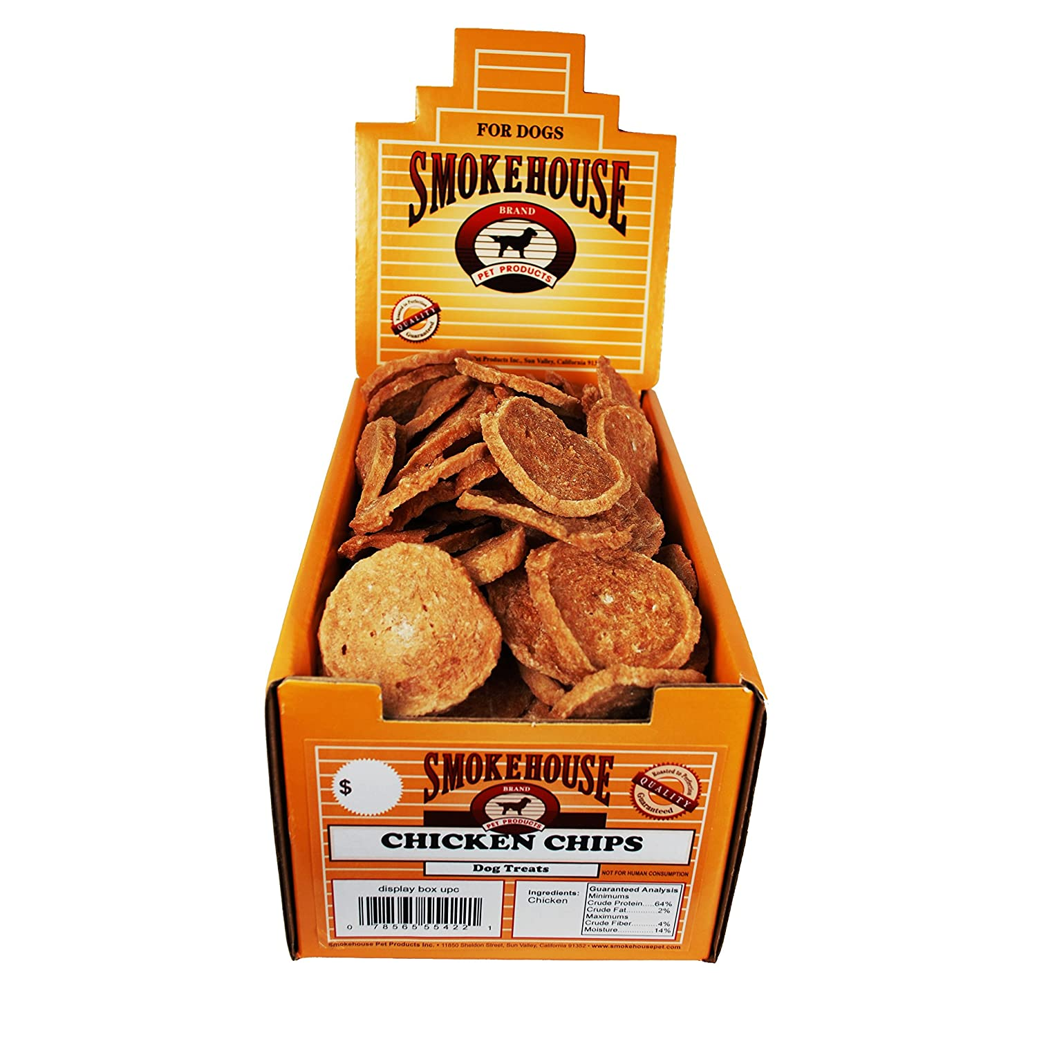 Smokehouse 100 Count Chicken Chips Treat