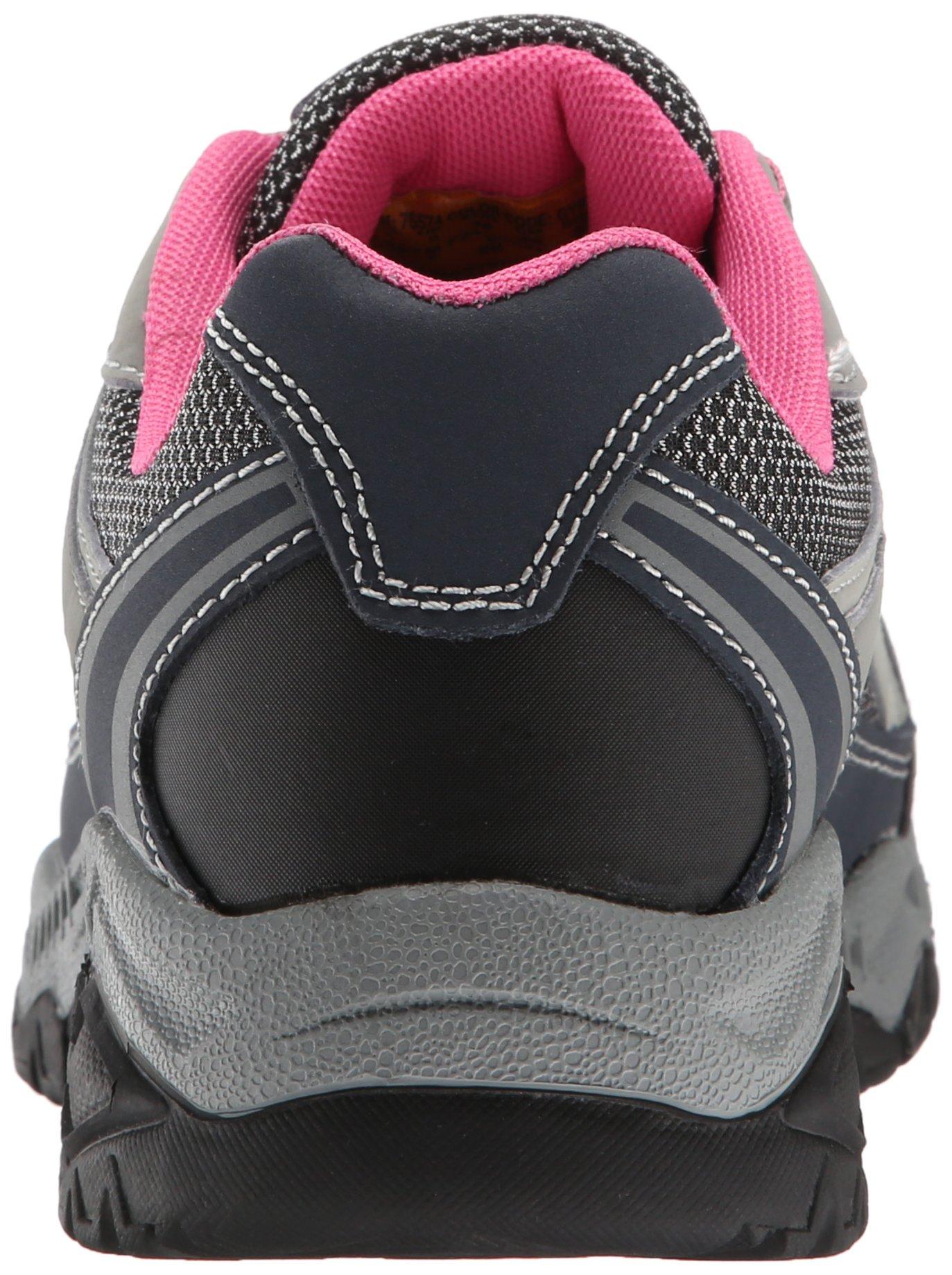 Skechers for Work Women's Doyline Hiker Boot, Gray Pink, 9 M US by Skechers (Image #2)