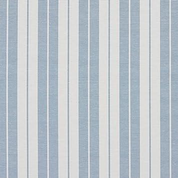 Amazon Com A583 Aero Blue And White Ticking Stripes Heavy Duty