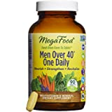 MegaFood - Men Over 40 One Daily, Multivitamin to Promote Immune Health, 90 Tablets (FFP)