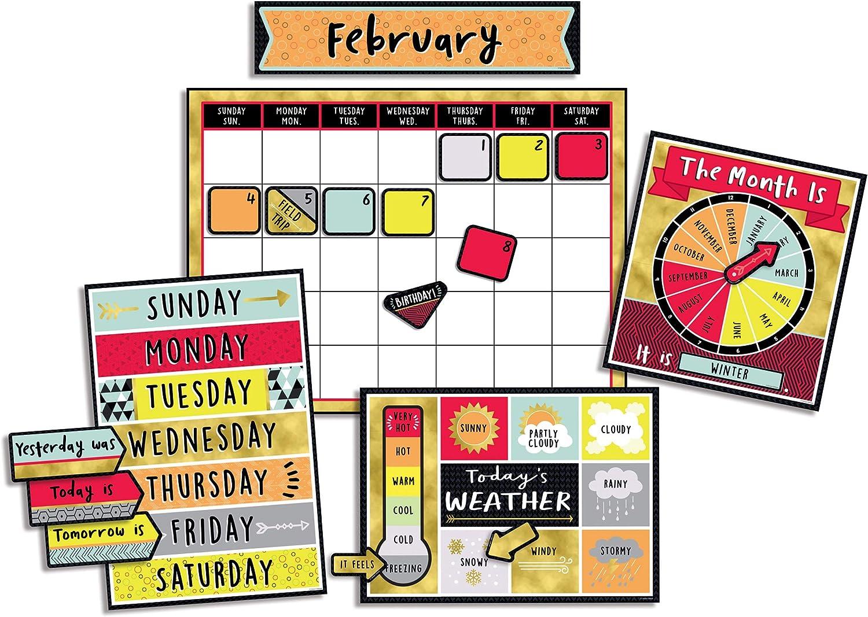 Carson Dellosa Aim High Calendar Bulletin Board Set (110377)