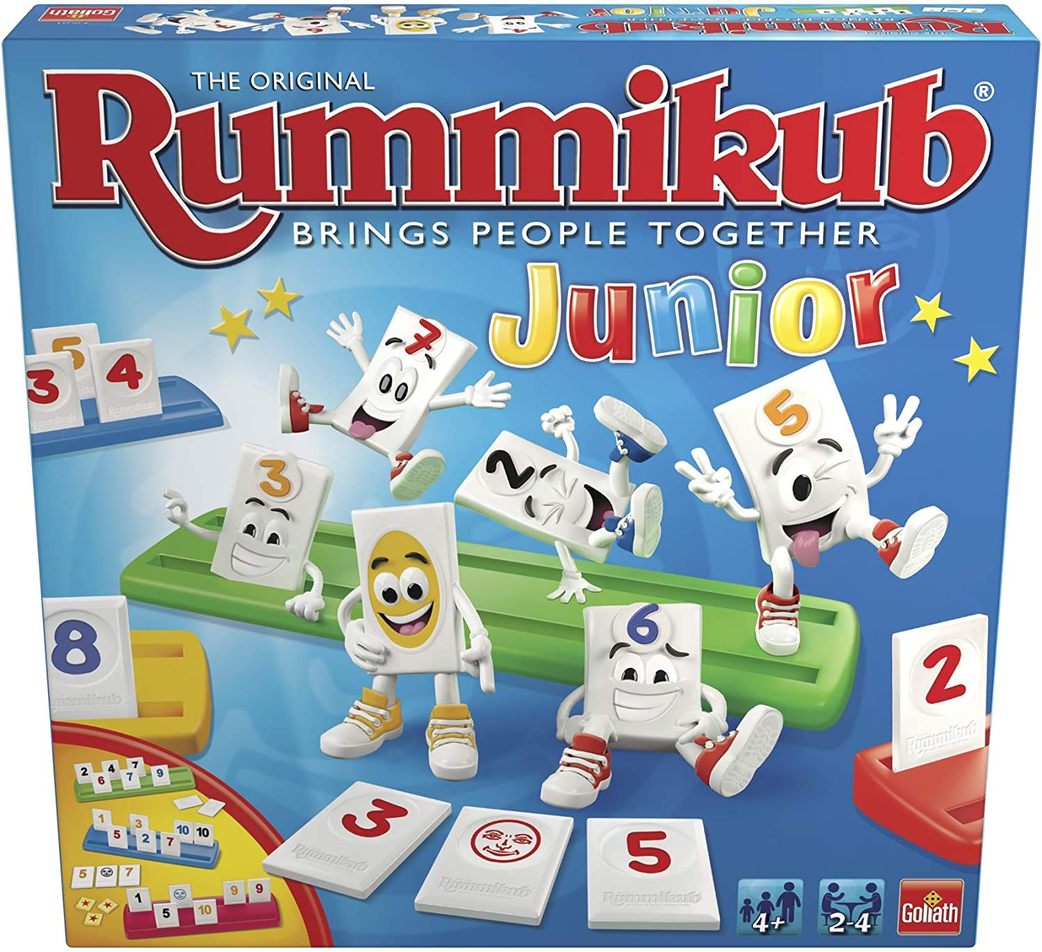 Goliath-50210 Rummikub Junior (50210)