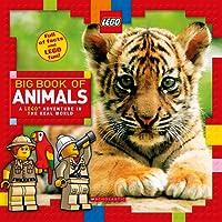(进口原版) LEGO 乐高 Big Book of Animals: A Lego Adventure in the Real World