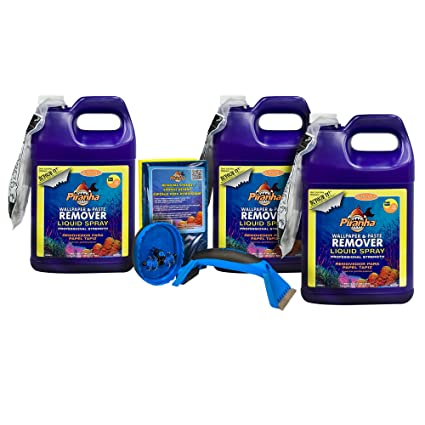 Roman 209934 3 Gal Liquid Spray Wallpaper Removal Kit Large Room