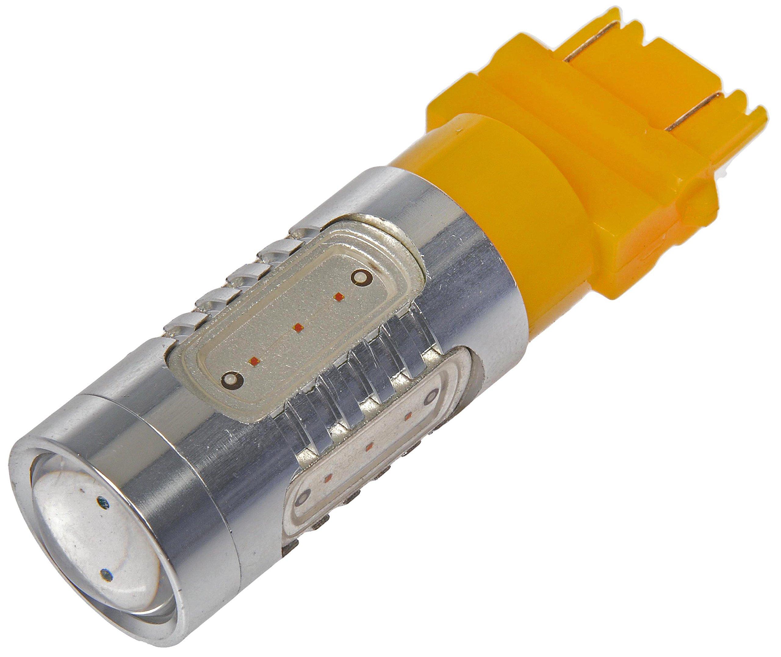Dorman 3157SW-HP White/Amber Switchback LED Turn Signal Light Bulb, (Pack of 1)