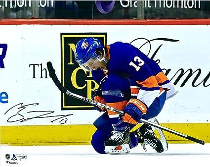 buy online e01d0 d0b1e Mathew Barzal New York Islanders Autographed 16