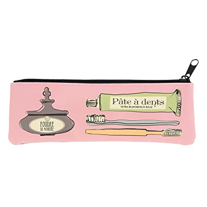Color rosa la porte-Estuche para cepillo de dientes Elixir Derrière la porte -
