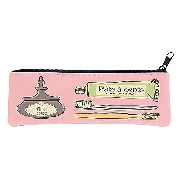 Color rosa la porte-Estuche para cepillo de dientes Elixir Derrière la porte -: Amazon.es: Hogar
