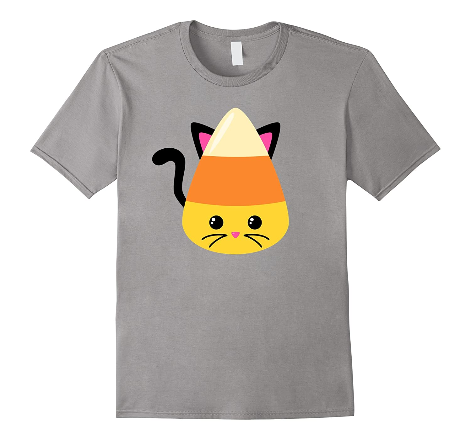 Candy Corn Emoji Cat Shirt