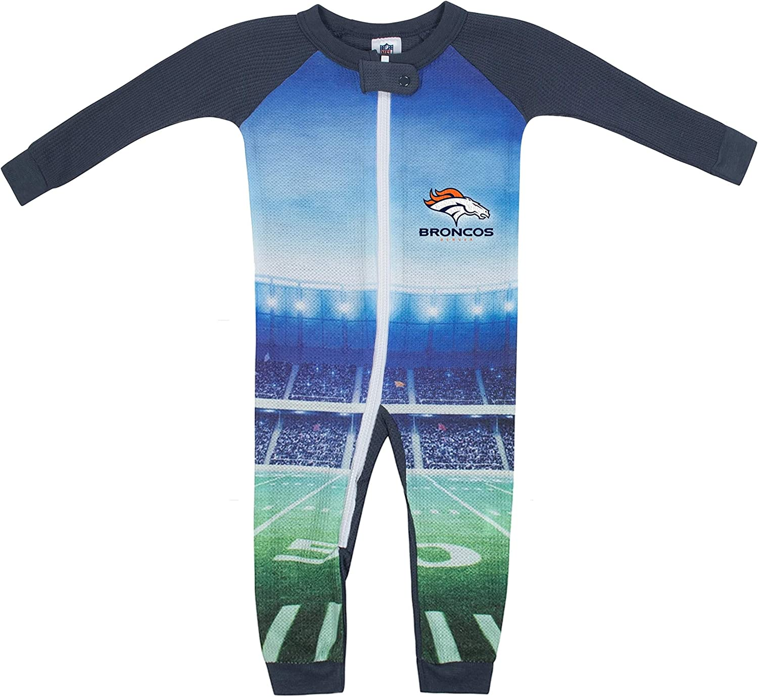 NFL Baby-Boy Thermal Team Unionsuit