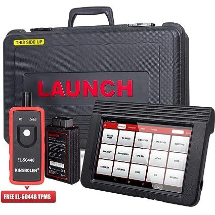 Launch X431 V Pro Bi-Directional OBD2 Diagnostic Scanner, Key Fob  Programming, ECU Coding, ABS Bleeding Brake, Reset Functions Including Oil  Reset,