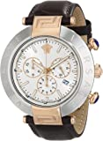 Versace Men's VA8120014 REVE CHRONO Analog Display Quartz Brown Watch