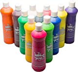 Scola Artmix Ready Mix Coloured Paint, 12 x 600 m - Pack of 12