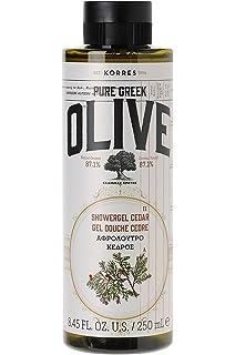KORRES - Gel de ducha de aceite y cedro, 250 ml