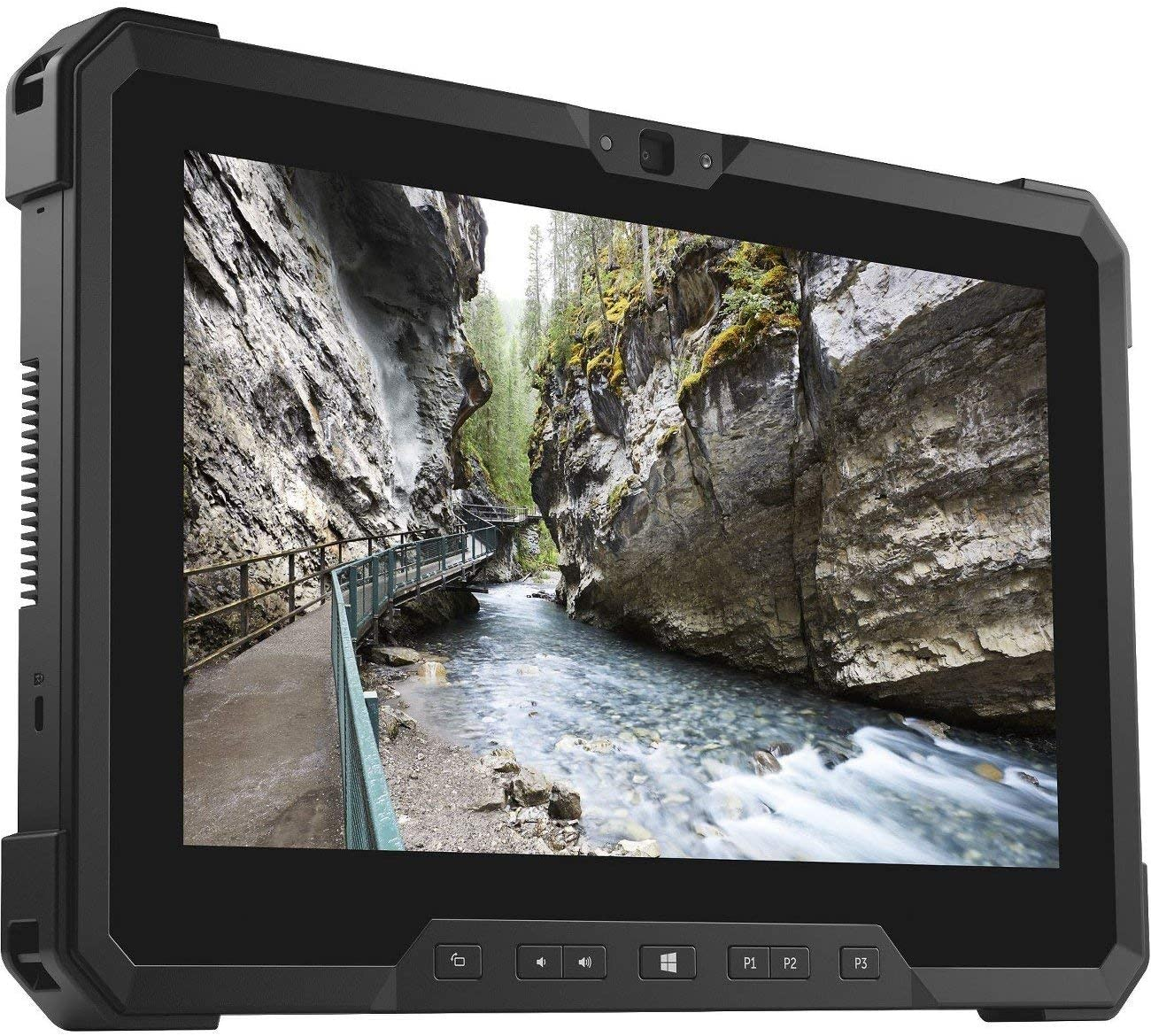 Dell Rugged Tablet 7212, WIN10, Intel i5-7300U@2.6GHz, 11.6 inches FHD, 512GB SSD, 8GB, WiFi, Bluetooth (Renewed)