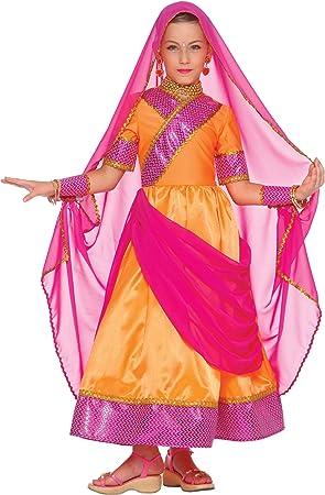 Vegaoo - Disfraz de Princesa Bollywood para niña - 5-7 años (128 ...